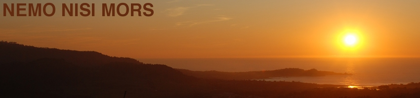 Sunset from Jacks Peak, Monterey (California, United States), December 2011 (Photo: Anders Gustafson)