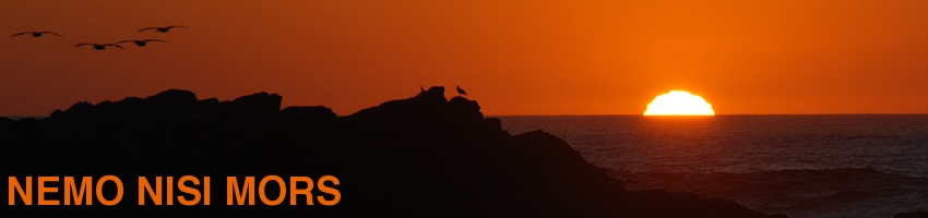 Sunset from Monterey Peninsula (California, United States), December 2011 (Photo: Anders Gustafson)