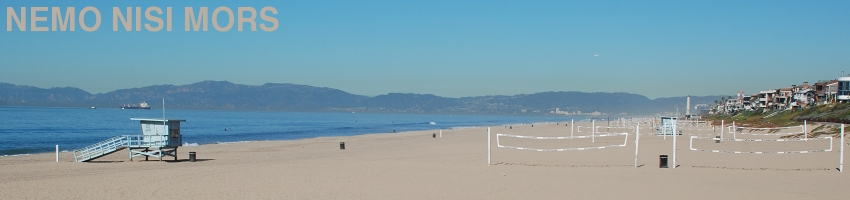Manhattan beach (California, United States), January 2012 (Photo: Anders Gustafson)