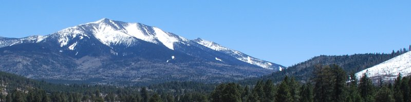 Humphreys Peak, Arizona, USA, April 2009 (Photo: Anders Gustafson)